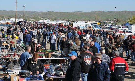 20TH ANNUAL SPRING WARM UP & SWAP MEET ENJOYS SUNNY DAY