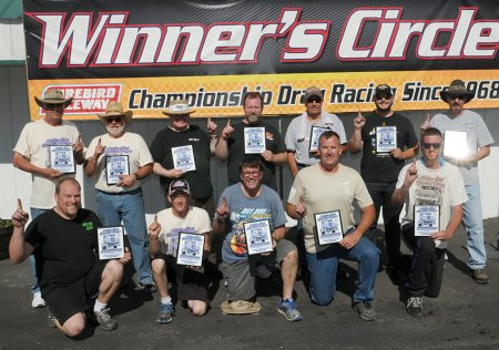 ABUNDANCE OF CHAMPIONS CROWNED AT 36TH OLDIES DRAGS