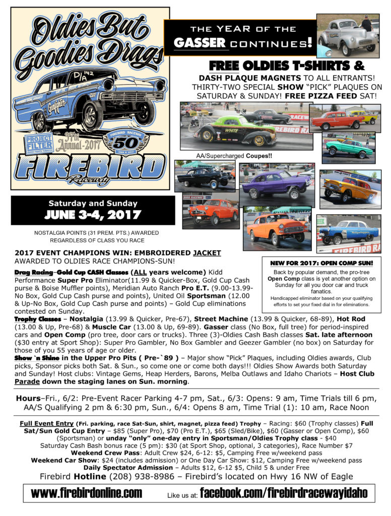 oldies but goodies drags / firebird raceway / june 3-4