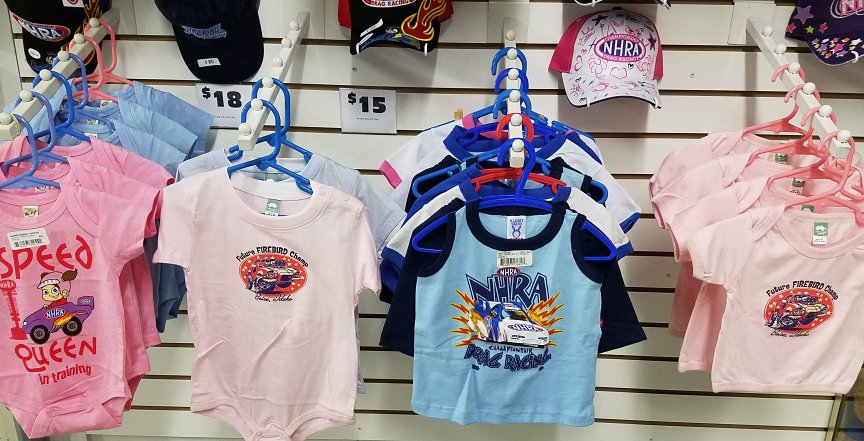 Best sure to visit one of our stores to check out the cool swag for all  ages.
